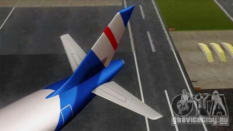 GTA 5 Air Herler для GTA San Andreas вид сзади слева