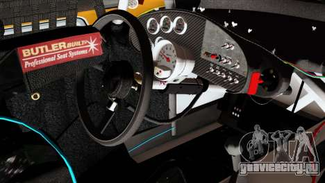 NASCAR Dodge Charger 2012 Short Track для GTA San Andreas вид справа