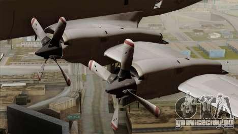 Lockheed P-3C Orion JMSDF Shimofusa для GTA San Andreas вид справа