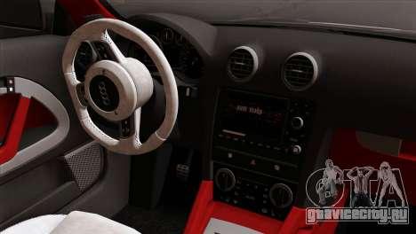 Audi S3 2011 для GTA San Andreas вид справа