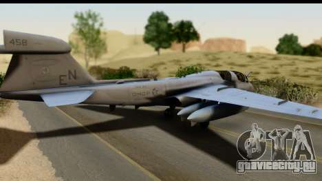 Northrop Grumman EA-6B VAQ-194 Skyshields для GTA San Andreas вид слева