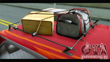 GTA 5 Benefactor Glendale для GTA San Andreas вид сзади
