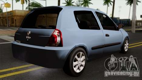 Renault Clio Mio 3P для GTA San Andreas вид слева