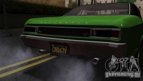 GTA 5 Albany Buccaneer IVF для GTA San Andreas вид справа