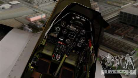 P-51D Mustang Da Quake для GTA San Andreas вид справа