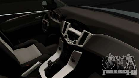 Chevrolet Cruze Hatchback для GTA San Andreas вид сзади слева