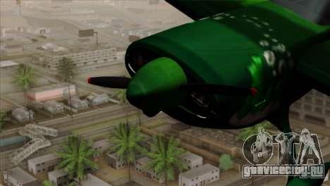 GTA 5 Stuntplane Spunck для GTA San Andreas вид справа