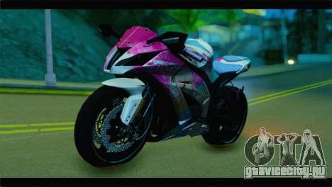 Kawasaki Ninja ZX-10R Super Sonico Itansha для GTA San Andreas