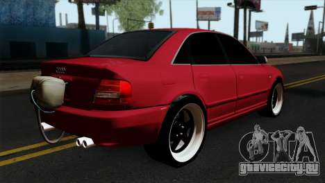 Audi S4 2000 Drag Version для GTA San Andreas вид слева
