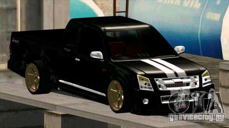 Isuzu D-Max X-Series для GTA San Andreas вид сбоку