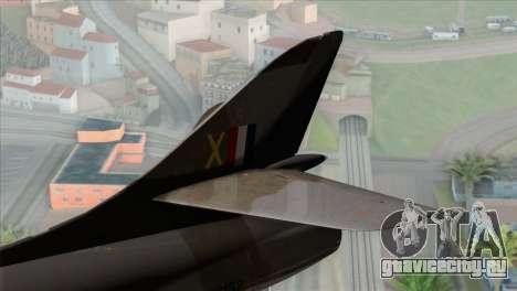 MIG-21MF Romanian Air Force для GTA San Andreas вид сзади слева