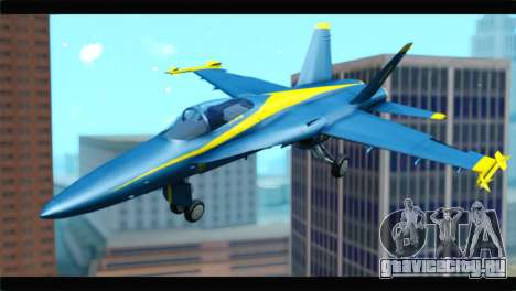 McDonnell Douglas FA-18 Blue Angel для GTA San Andreas