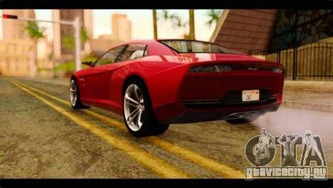 Lamborghini Estoque PJ для GTA San Andreas вид слева