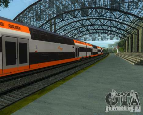 ONCF Ansaldo Breda Z2M (Серединный вагон) для GTA San Andreas