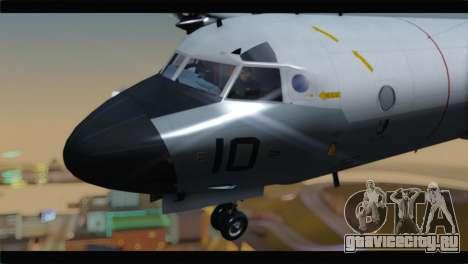 Lockheed P-3C Orion US Navy VP-24 для GTA San Andreas вид сзади