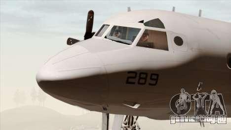 Lockheed P-3C Orion JMSDF Shimofusa для GTA San Andreas вид сзади