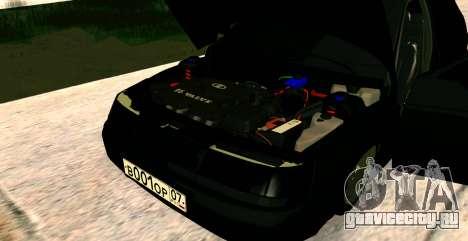 ВАЗ 2112 BUNKER для GTA San Andreas вид справа