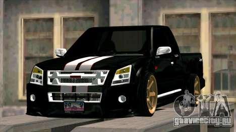 Isuzu D-Max X-Series для GTA San Andreas