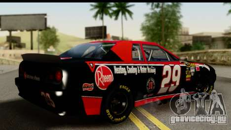 Elegy NASCAR PJ для GTA San Andreas вид слева