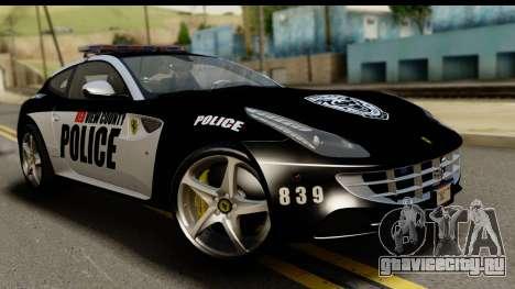 NFS Rivals Ferrari FF Cop для GTA San Andreas