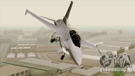 F-16D Fighting Falcon для GTA San Andreas вид сзади