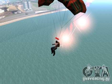 Парашют Flare для GTA San Andreas четвёртый скриншот