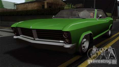 GTA 5 Albany Buccaneer IVF для GTA San Andreas