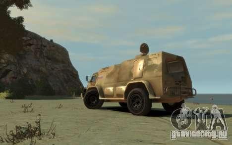 ГАЗ 3937 «Водник» для GTA 4 вид сзади слева