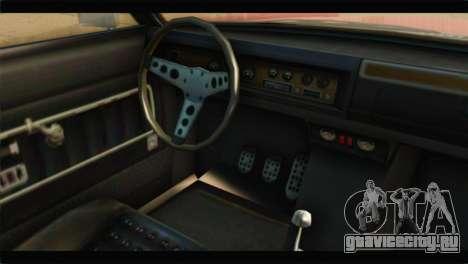 GTA 5 Benefactor Glendale IVF для GTA San Andreas вид справа