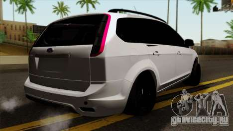 Ford Focus Wagon для GTA San Andreas вид слева