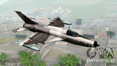 Hawker Hunter F6A для GTA San Andreas