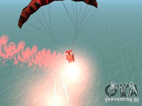 Парашют Flare для GTA San Andreas пятый скриншот