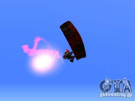 Парашют Flare для GTA San Andreas