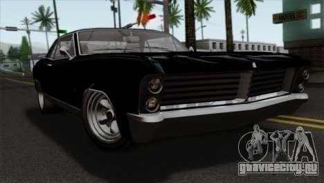 GTA 5 Albany Buccaneer для GTA San Andreas