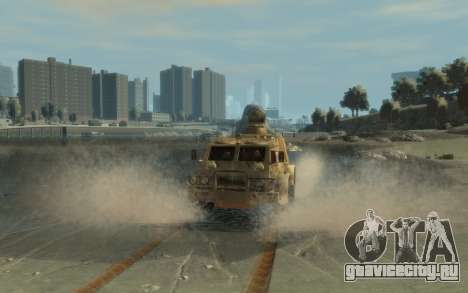 ГАЗ 3937 «Водник» для GTA 4 вид слева