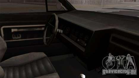 GTA 5 Albany Buccaneer для GTA San Andreas вид справа