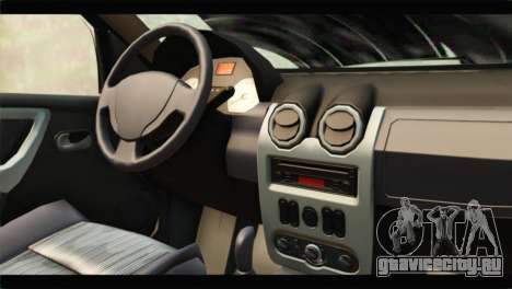 Dacia Sandero Dirty Version для GTA San Andreas вид справа