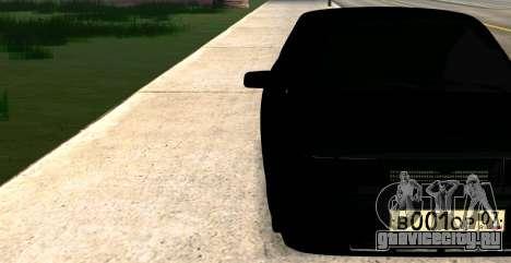 ВАЗ 2112 BUNKER для GTA San Andreas вид сзади слева