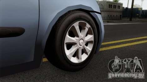 Renault Clio Mio 3P для GTA San Andreas вид сзади слева