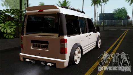 Ford Connect для GTA San Andreas вид слева