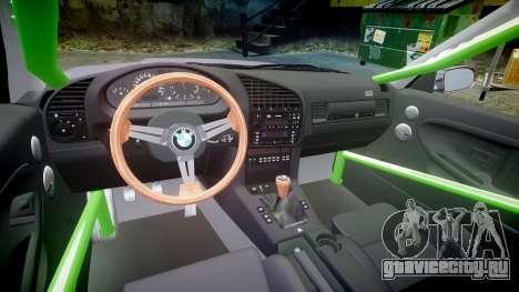 BMW M3 E36 Stance для GTA 4 вид сзади