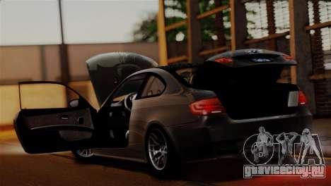 BMW M3 E92 GTS 2012 v2.0 Final для GTA San Andreas двигатель