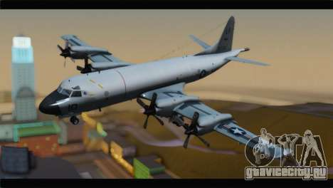Lockheed P-3C Orion US Navy VP-24 для GTA San Andreas