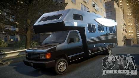 GTA IV Steed Camper для GTA 4 вид сзади слева