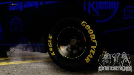 Elegy NASCAR PJ 2 для GTA San Andreas вид сзади слева