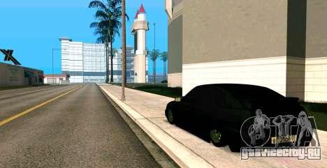 ВАЗ 2112 BUNKER для GTA San Andreas вид слева