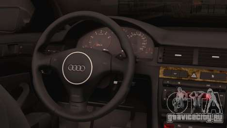 Audi RS6 для GTA San Andreas вид сзади слева