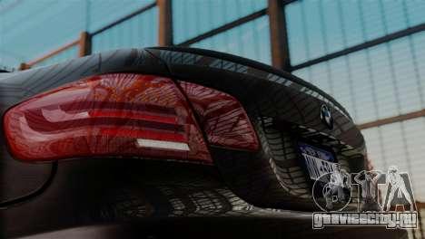 BMW M3 E92 GTS 2012 v2.0 Final для GTA San Andreas вид справа