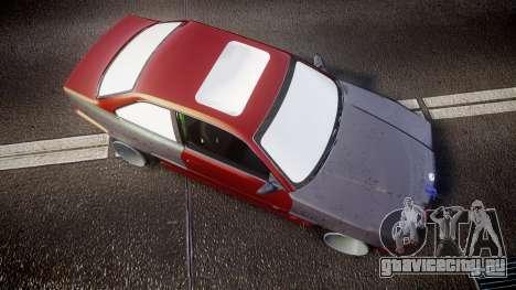 BMW M3 E36 Stance для GTA 4 вид справа