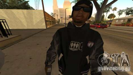 Ballas Skin Pack для GTA San Andreas четвёртый скриншот